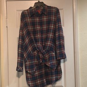 Chelsea & Violet flannel size: s new w/ tags